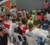 Caracas: Iglesia evangélica donó comida navideña a reclusos de la PNB de San Agustín del Sur para la cena de Navidad