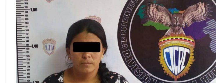 Portuguesa: Cicpc detiene a mujer que intentó ingresar droga a calabozo en Acarigua