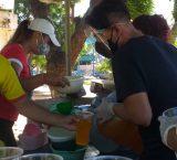 PEP  beneficia con alimentos y palabras de aliento a 694 detenidos en fin de año