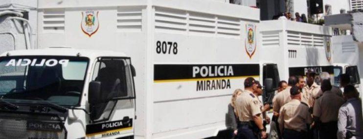 100 detenidos de la Policía de Miranda esperan por ingreso a cárceles