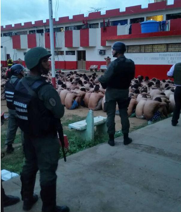 GNB y CPBEZ toman el Centro de Arrestos y Detenciones Preventivas de Cabimas