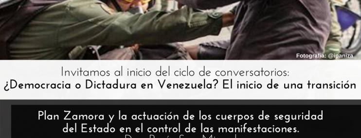 Discutirán la crisis institucional que vivimos los venezolanos