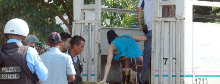 Trasladan a reos de comisaría Unión a comandancia general de Polilara tras huelga de hambre