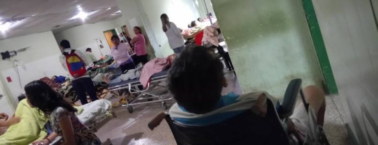 Trasladan a dos presos desnutridos al hospital de Maturín