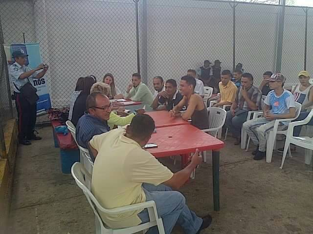 Privados de libertaddel CDP de Comandancia Regional de policía apureña recibieron atención médica y jurídica.