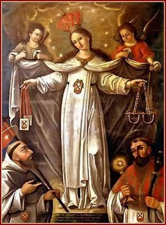 Los cautivos y la virgen de la merced