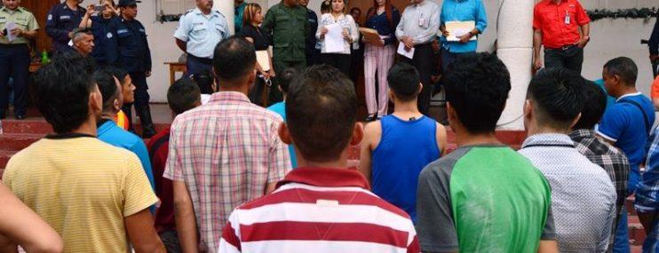 Plan Cayapa atendió a más de 300 privados de libertad en CDP del estado Mérida