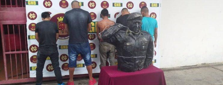Más de 40 personas fueron detenidas en el estado Bolívar durante disturbios