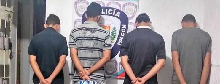 15 adultos y siete adolescentes fueron detenidos en Falcón el 23 de enero