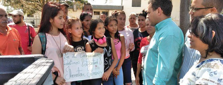 Familiares afirman que son inocentes los detenidos el 23E en Falcón