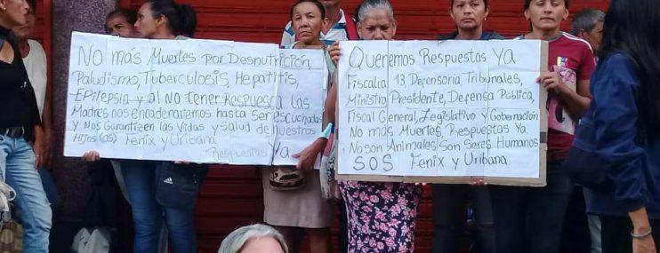 Lara: segunda protesta por situación de salud en los penales