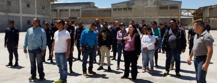 """La Ministra para el Servicio Penitenciario inspeccionó cárcel de """"Tocuyito"""""""