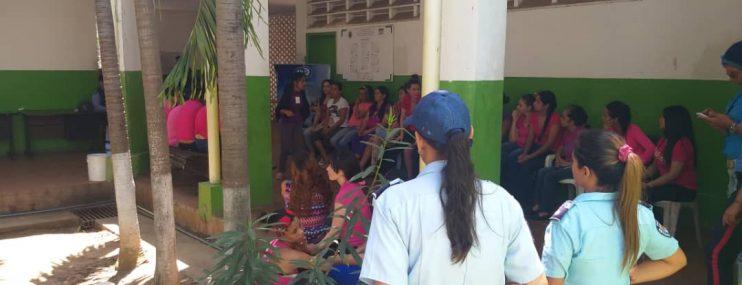 Realizan jornada de salud dirigida a privadas de libertad del CDP de Los Robles en Nueva Esparta