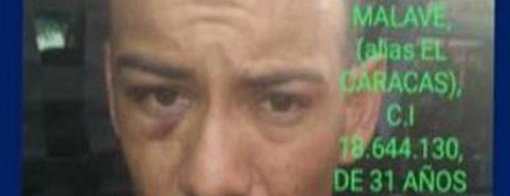 Lara: Abatido preso que se evadió en El Tocuyo