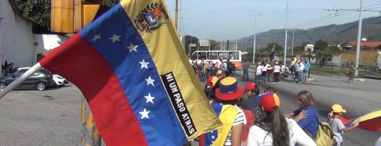 Al menos nueve personas resultaron detenidos durante las protestas en Mérida en apoyo a Juan Guaidó