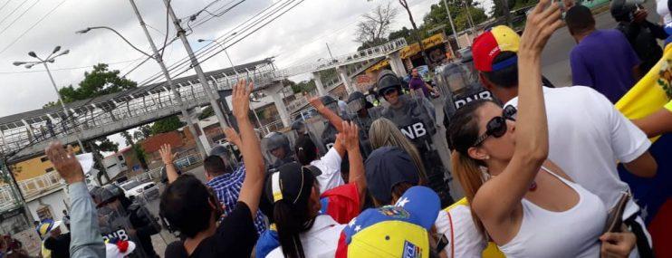 Detenidos en protestas de Monagas conviven con presos comunes en cárcel de La Pica
