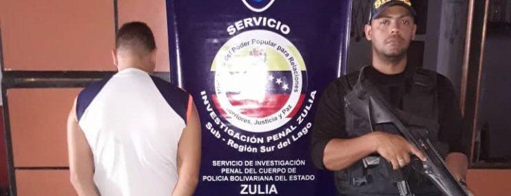 Zulia: Aprovechaba su arresto domiciliario para delinquir