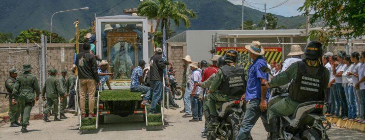 Virgen de El Valle visitó el Penal de San Antonio en Nueva Esparta