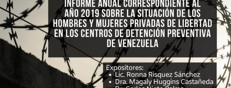 UVL Presentará investigación sobre Centros de Detención Preventiva correspondiente al año 2019