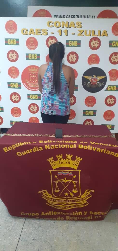 Desde Tocuyito planificaba con su marido estafas en Maracaibo