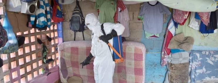 Realizan jornada médica y abatización en calabozos de Polifreites y Polianzoátegui