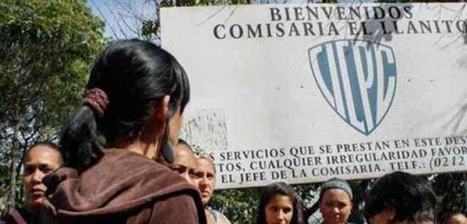Caracas: Familiares de reclusos detenidos en el Eje de Homicidios del Cicpc El Llanito gestionan jornada médica