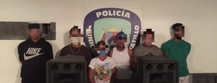 Caracas: Polihatillo detuvo a seis personas que realizaron una fiesta durante la cuarentena
