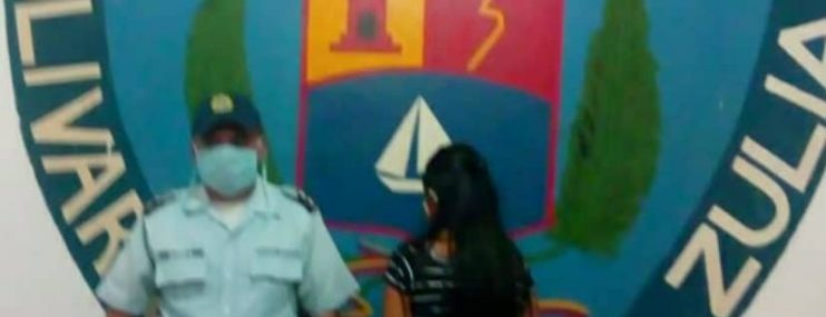 Zulia: La apresan tras intentar ingresar un celular al retén de Colón