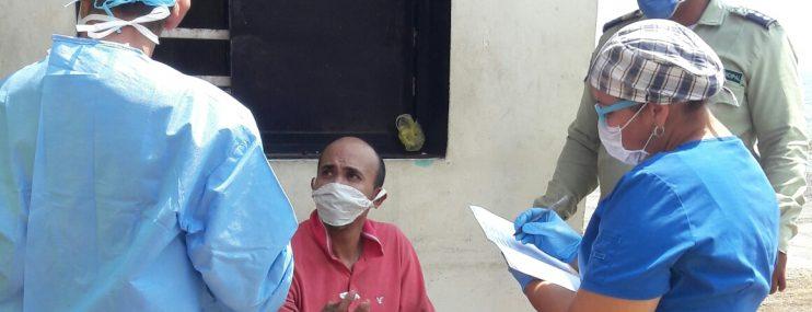 Semanalmente realizan pruebas rápidas de descarte de COVID – 19 a privados de libertad en Policía Municipal de Vargas
