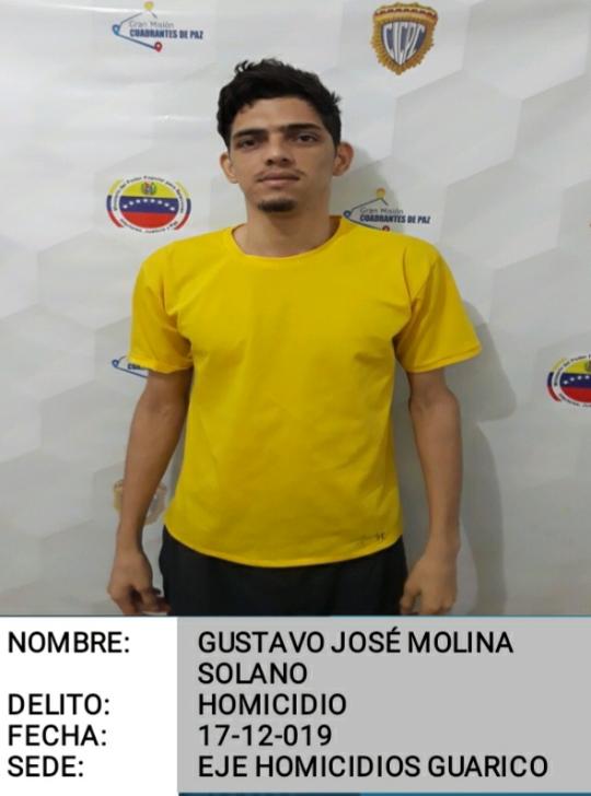 Tercer reo de los 14 fugados del Cicpc se entregó a PoliGuárico