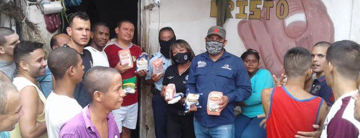Privados de libertad de los CDP de Mérida recibieron atención alimentaria durante el mes de mayo