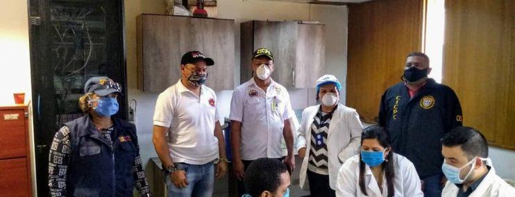 Realizaron jornada de salud en calabozos del Cicpc Ciudad Guayana