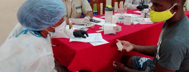 Realizan jornada de atención médica a privados de libertad en sede Policía Municipal de Vargas