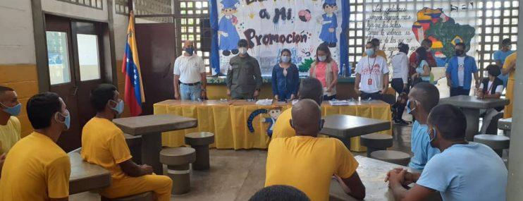 Miranda | 50 privados de libertad de la cárcel de Yare recibieron certificados de graduación