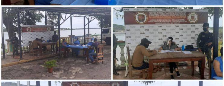 Amazonas: Detenidos en  sede  de la GNB reciben atención médica.