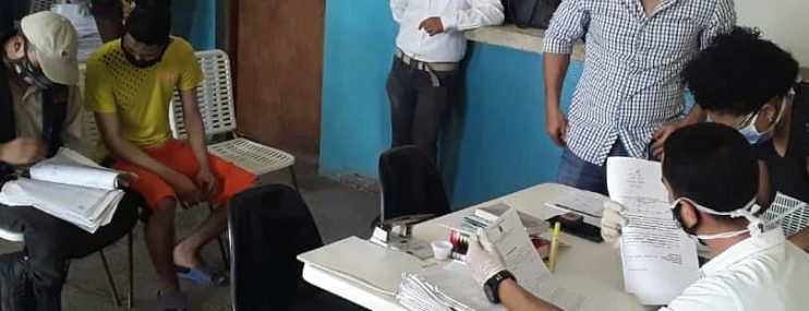 Ministerio Público revisa expedientes de 61 privados de libertad en Paraguaná