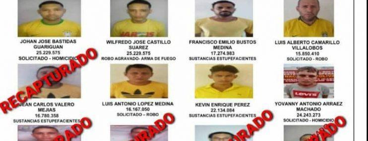 Zulia: Imputan cuatro delitos a seis militares por la fuga de 14 detenidos en Mene Grande